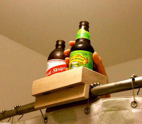 Banho com cerveja