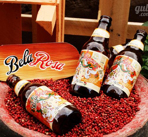 Bela Rosa, a cerveja apimentada da Bohemia