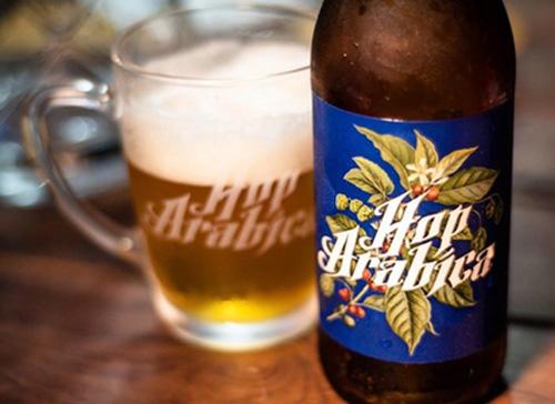 Hop Arábica- O sabor do café com a textura de uma Pale Ale